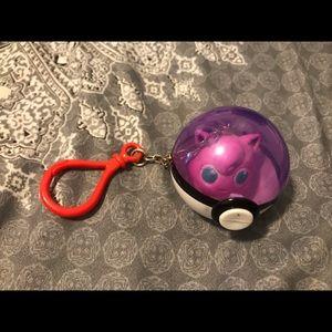 Rare 1999 Jigglypuff Keychain